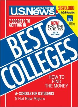 U.S. News and World Report's Best Colleges 2013