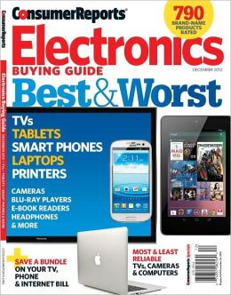Consumer Reports' Electronics Buying Guide 2012