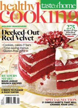 Healthy Cooking - December and January 2013