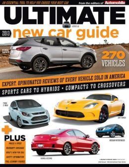 Automobile's Ultimate New Car Buyers Guide 2013