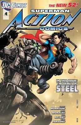 Action Comics #4 (2011- ) (NOOK Comics with Zoom View)