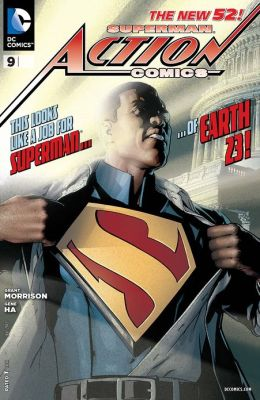 Action Comics #9 (2011- ) (NOOK Comics with Zoom View)