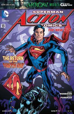 Action Comics #13 (2011- ) (NOOK Comics with Zoom View)