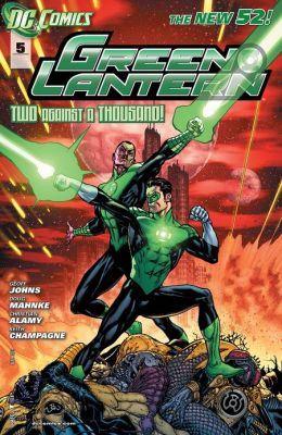Green Lantern #5 (2011- ) (NOOK Comics with Zoom View)