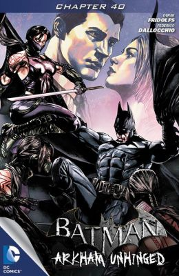 Batman: Arkham Unhinged #40 (NOOK Comics with Zoom View)