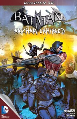 Batman: Arkham Unhinged #42 (NOOK Comics with Zoom View)