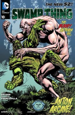 Swamp Thing #10 (2011- ) (NOOK Comics with Zoom View)