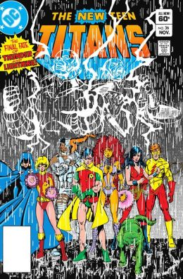 New Teen Titans #36 (1980-1984) (NOOK Comics with Zoom View)