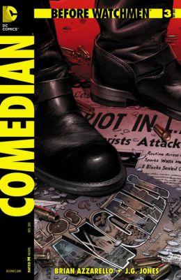 Before Watchmen: Comedian #3 (NOOK Comics with Zoom View)