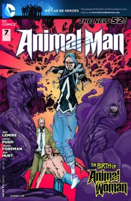 Animal Man #7 (2011- ) (NOOK Comics with Zoom View)