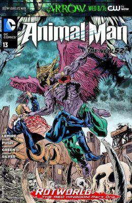 Animal Man #13 (2011- ) (NOOK Comics with Zoom View)