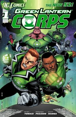 Green Lantern Corps #1 (2011- ) (NOOK Comics with Zoom View)