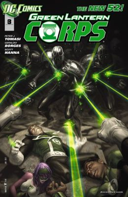 Green Lantern Corps #3 (2011- ) (NOOK Comics with Zoom View)