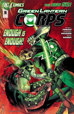 Green Lantern Corps #5 (2011- ) (NOOK Comics with Zoom View)