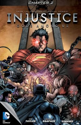 Injustice: Gods Among Us #2 (NOOK Comics with Zoom View)