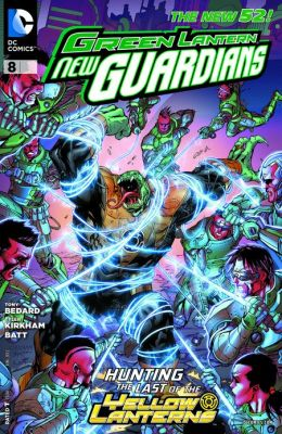 Green Lantern: New Guardians #8 (2011- ) (NOOK Comics with Zoom View)