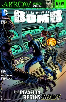 Human Bomb #3 (NOOK Comics with Zoom View)