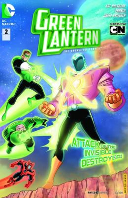 Green Lantern: The Animated Series #2 (NOOK Comics with Zoom View)