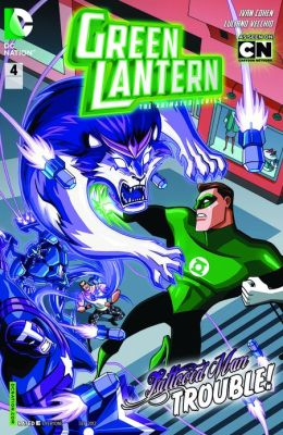 Green Lantern: The Animated Series #4 (NOOK Comics with Zoom View)