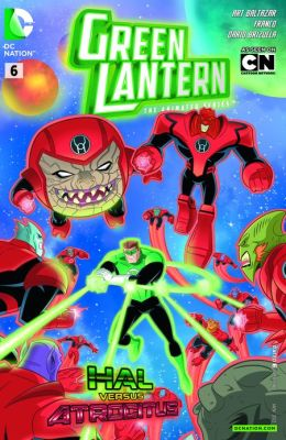 Green Lantern: The Animated Series #6 (NOOK Comics with Zoom View)