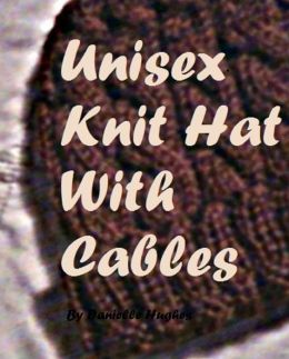 Unisex Knit Hat With Cables