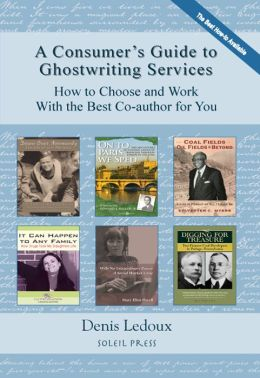 A Consumer's Guide to Ghostwriting Services