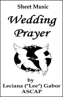 Sheet Music Wedding Prayer