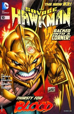 The Savage Hawkman #10 (2011- ) (NOOK Comics with Zoom View)