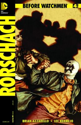 Before Watchmen: Rorschach #4 (NOOK Comics with Zoom View)