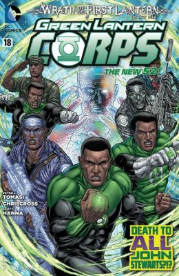 Green Lantern Corps #18 (2011- ) (NOOK Comics with Zoom View)