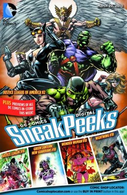 DC Comics Digital Sneak Peeks 3/20/13
