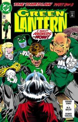 Green Lantern (1990-2004) #34 (NOOK Comics with Zoom View)