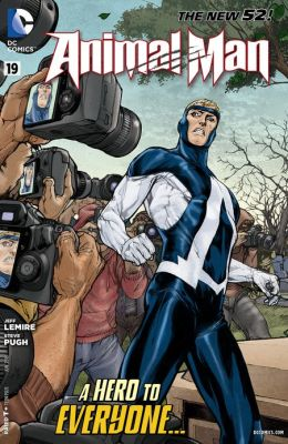 Animal Man #19 (2011- ) (NOOK Comics with Zoom View)