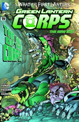 Green Lantern Corps #19 (2011- ) (NOOK Comics with Zoom View)