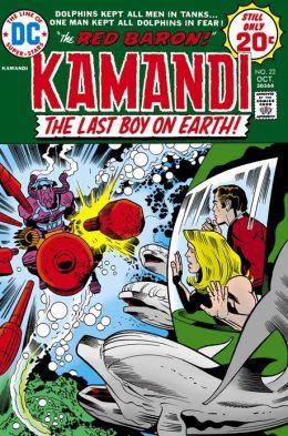 Kamandi: The Last Boy on Earth #22 (1971-1978) (NOOK Comics with Zoom View)