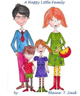 A Happy Little Family (Childrens picture book)