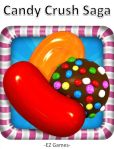 Book Cover Image. Title: Candy Crush Saga, Author: EZ Games