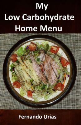 My Low Carbohydrate Home Menu