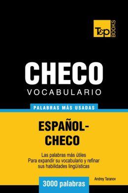 Vocabulario Español-Checo: 3000 Palabras Más Usadas