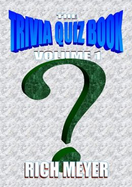 The Trivia Quiz Book