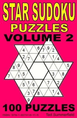 Star Sudoku Puzzles. Volume 2.