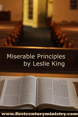 Miserable Principles