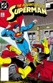 Book Cover Image. Title: Adventures of Superman #430 (1986-2006) (NOOK Comic with Zoom View), Author: Marv Wolfman