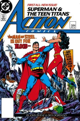 Action Comics #584 (1938-2011) (NOOK Comic with Zoom View)