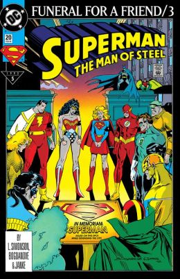 Superman: The Man of Steel #20 (1991-2003) (NOOK Comic with Zoom View)