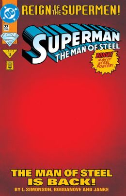 Superman: The Man of Steel #22 (1991-2003) (NOOK Comic with Zoom View)