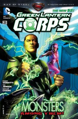 Green Lantern Corps #21 (2011- ) (NOOK Comic with Zoom View)