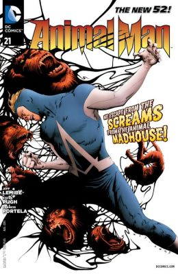 Animal Man #21 (2011- ) (NOOK Comic with Zoom View)