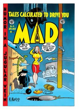 Mad Magazine #4 (NOOK Comic with Zoom View)