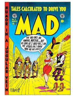 Mad Magazine #9 (NOOK Comic with Zoom View)